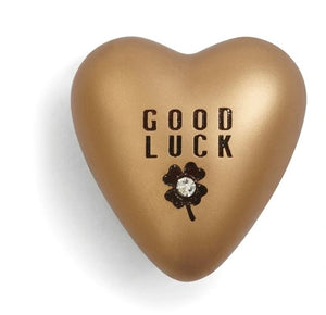 Good luck heart token
