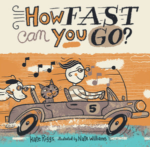 How Fast can You Go? Kids Books