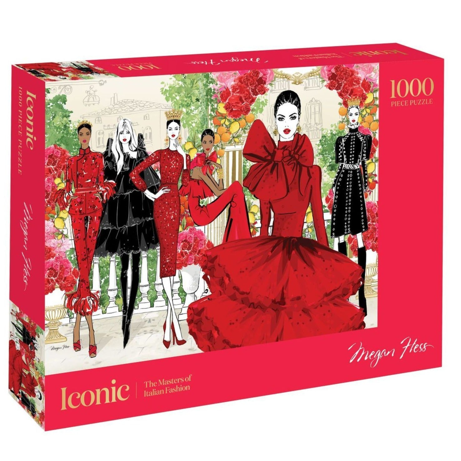 1000 piece adult fashion puzzle to ship
