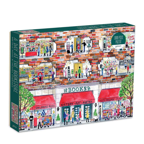 Michael Storring's A Day At The Book Store 1000 Piece Puzzle