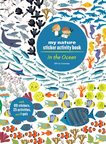 Sticker Activity Book - In The Ocean