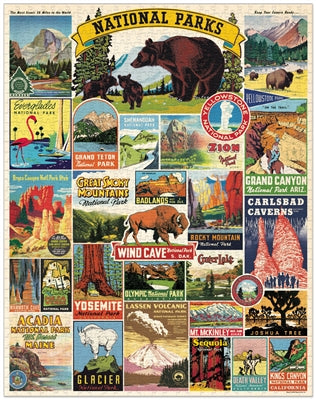 National Park 1000 Piece Puzzle
