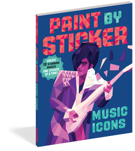 Paint By Sticker Music Icon