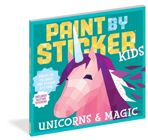 Paint By Sticker Book Unicorn