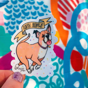 Water proof Sticker | Party Animal