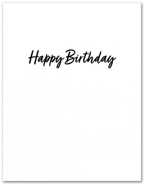 Greeting Card : Marie Kondo Happy Birthday Card