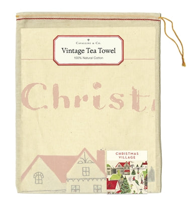 Kitchen Towel - Christmas Village