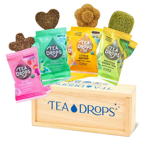 Tea drops tea git box