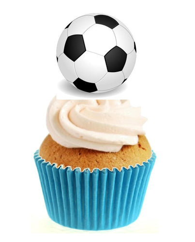Football Stand Up Cake Toppers (12 pack)