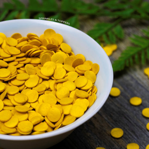 edible gold confetti