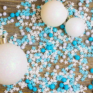 A Hazy Shade Of Winter Sprinkles Mix Cupcake / Cake Decorations Sprinkles