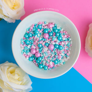 Pastel Medley Sprinkles Mix Cupcake / Cake Decorations
