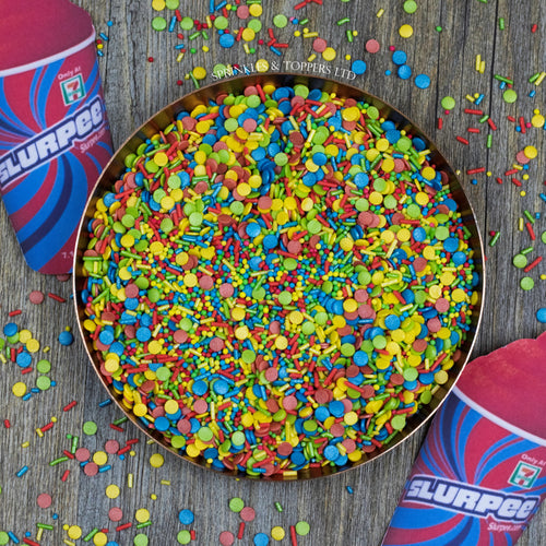 We have created the perfect Heathers! sprinkles mix just for you!!  Perfect to top any cupcake or to decorate a larger cake, ice creams, smoothies, cookies and more