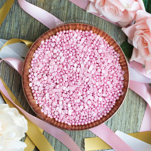 Pink Confetti & Pearls Sprinkles Mix