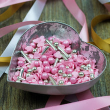 Load image into Gallery viewer, Pink Champagne Sprinkles Mix Cupcake / Cake Decorations Sprinkles