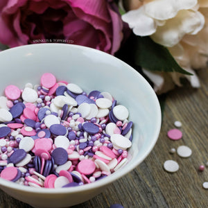 Precious Pastels Sprinkles Mix Cupcake / Cake Decorations