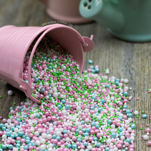 Pretty Flamingo Sprinkles Mix Cupcake / Cake Decorations Sprinkles