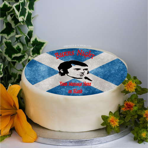 Personalised Burns Night (BN02) 8