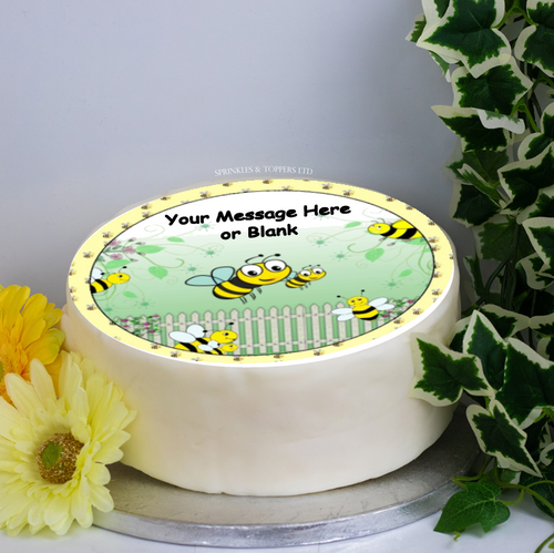 Personalised Busy Bees Scene 8