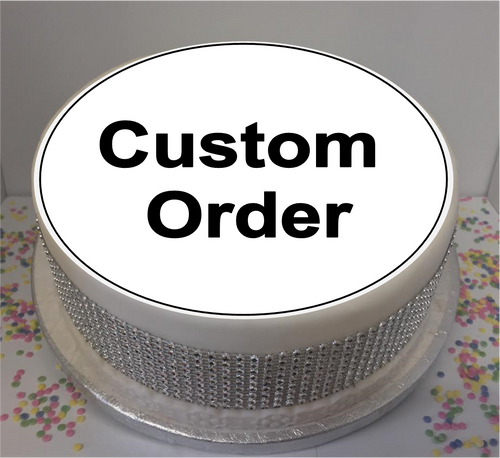 Pre Approved Custom Order