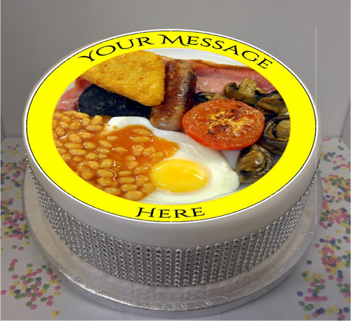 Personalised Full English Breakfast 8