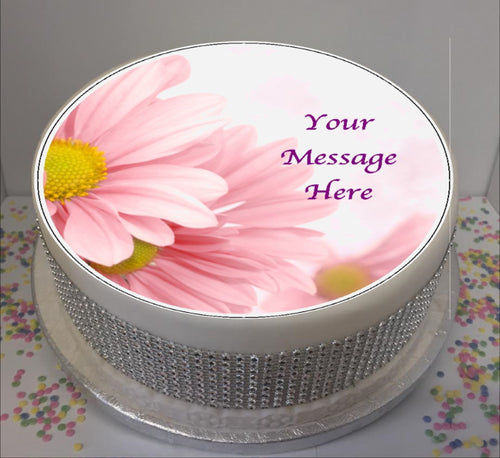 Personalised Soft Pink Floral Scene 8