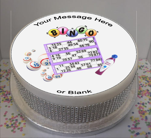 Personalised Bingo Cards & Dabber Scene 8