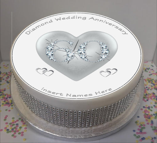 Personalised Diamond Anniversary / 60 years 8