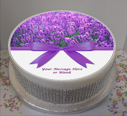 Personalised Lavender & Bow Scene 8