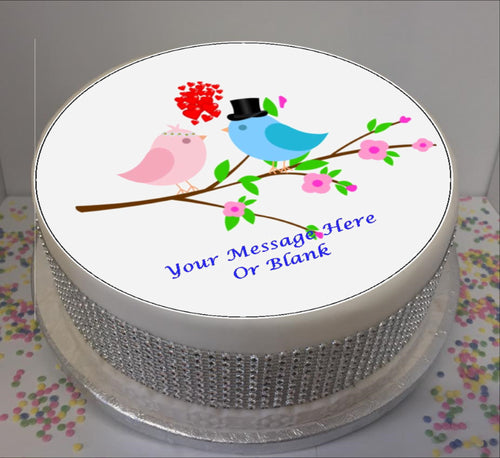 Personalised Love Birds Scene 8