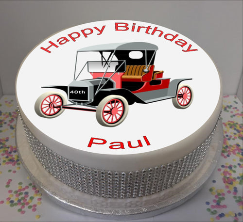 Personalised Vintage Car 8