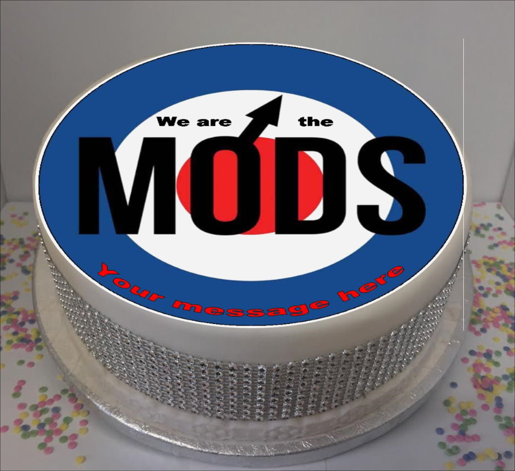 Personalised We Are The Mods 8
