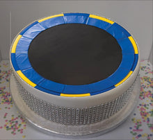 "Load image into Gallery viewer, Trampoline 8"" Icing Sheet Cake Topper"