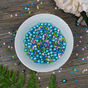 Marvellous Mermaid  Sprinkles Cupcake / Cake Decorations