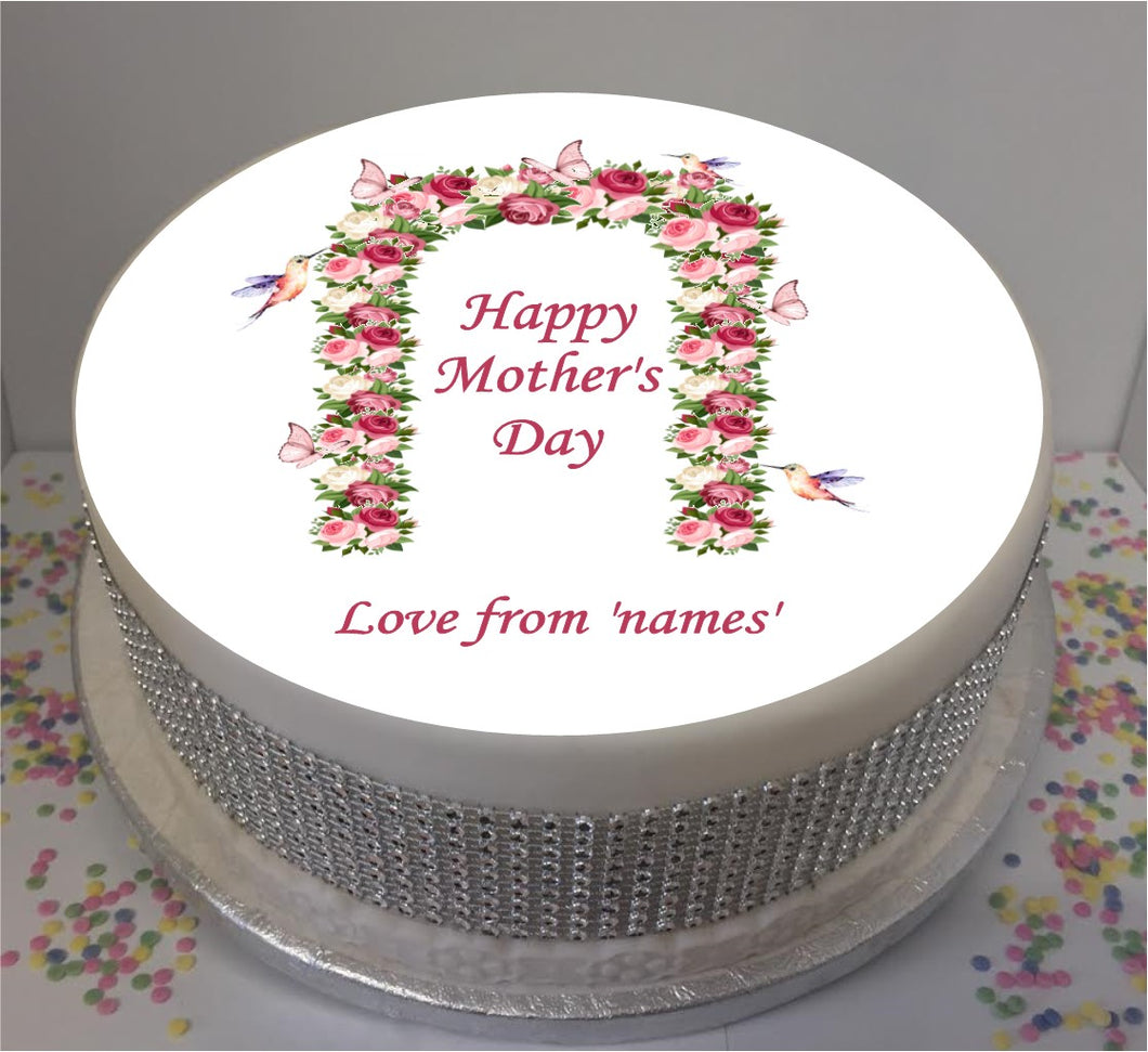 Personalised Mother's Day Butterfly Arch 8