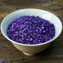 Load image into Gallery viewer, 4mm Purple Glimmer Confetti 100g