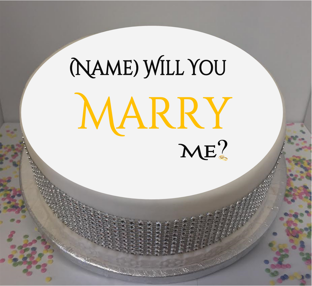 Personalised Will You Marry Me? 8