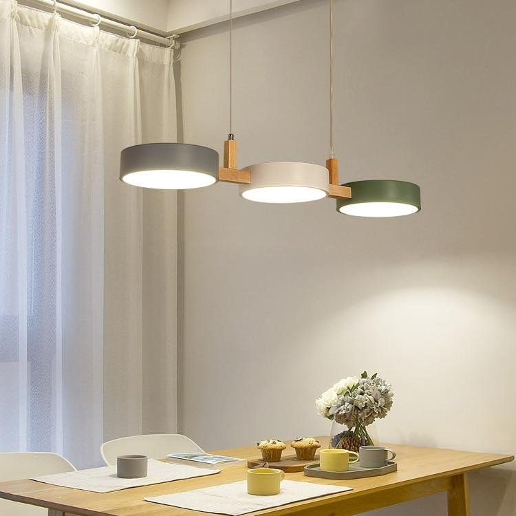 Lustre Bois Scandinave Colors