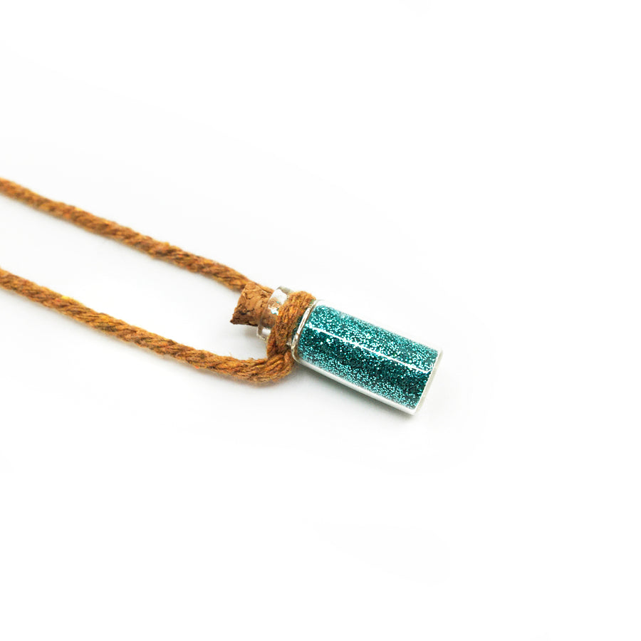 Sparkle Necklace - Turquoise Blend