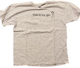 Vintage This Is My Girl T-shirt (Large) - Kickstasy Hypebeast Clothing and Sneakers
