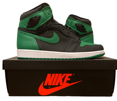 Jordan 1 Retro High Pine Green Black - (Size 13) - Kickstasy Hypebeast Clothing and Sneakers