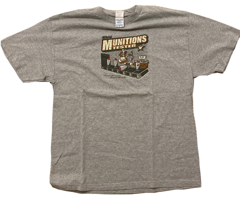 Vintage Munitions Tester T-Shirt - Kickstasy Hypebeast Clothing and Sneakers
