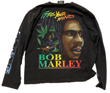 Vintage Bob Marley Long Sleeve - Kickstasy Hypebeast Clothing and Sneakers