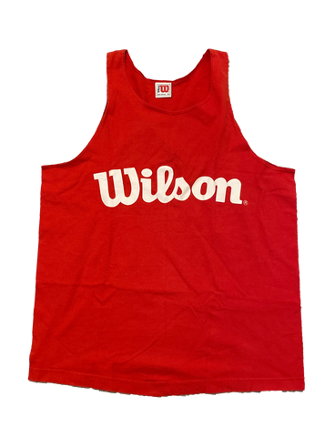 Vintage Wilson Tank Top (XL) - Kickstasy Hypebeast Clothing and Sneakers