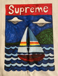 Supreme Sailboat T-shirt   -   (Small) - Kickstasy Hypebeast Clothing and Sneakers