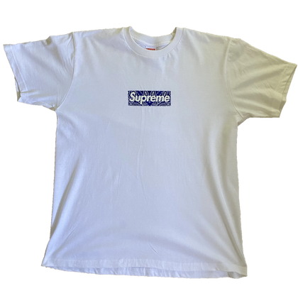 Supreme Bandana Box Logo T-shirt - Kickstasy Hypebeast Clothing and Sneakers