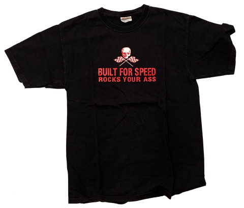 Vintage Built For Speed Short Sleeve - (M) - Kickstasy Hypebeast Clothing and Sneakers