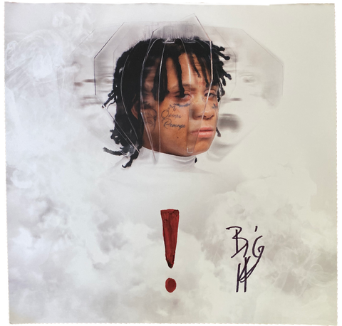 "Trippie Redd ""!"" Signed Lithograph - Kickstasy Hypebeast Clothing and Sneakers"