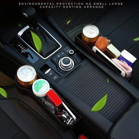 Car Seat Storage with Cup Holder
