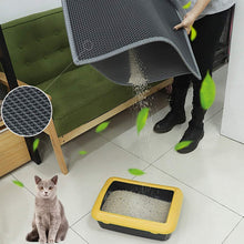 Load image into Gallery viewer, Double Layer Waterproof Cat Litter Mat